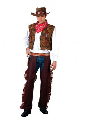 Western Cowboy (Brown) Costume