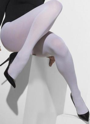 White 70 Denier Tights - Dress Size 6-18