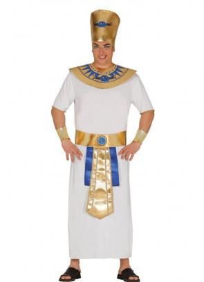 Mens White Egyptian Pharaoh Costume