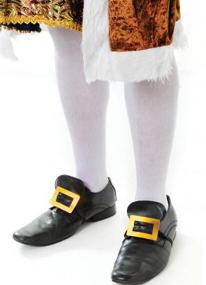 White Knee Socks