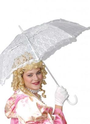 White Lace Parasol