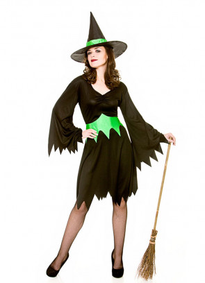 Emerald-City Wicked Witch Costume