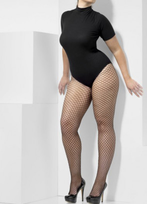 Lattice Net Tights - XL - Dress Size 16-22