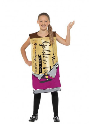 Winning Wonka Bar Costume - Roald Dahl