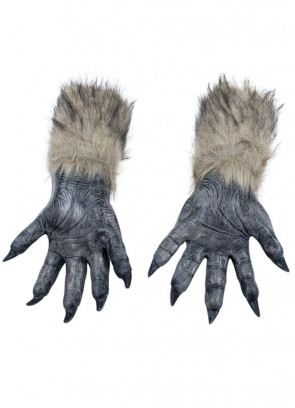 Wolf Hands - Realistic Faux Fur