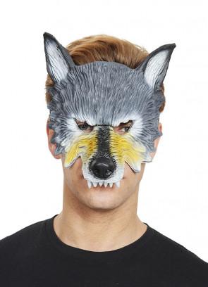 Wolf Half Mask – Soft