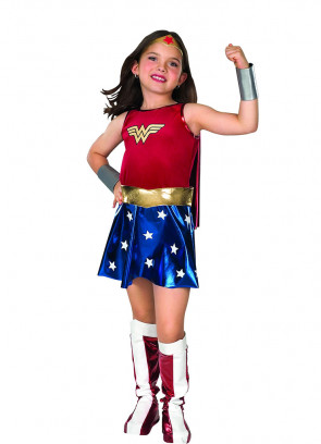 Wonder Woman (Girls) Costume
