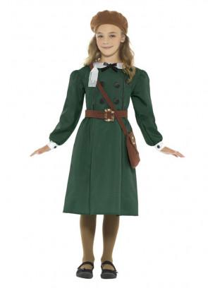 WWII Evacuee Girl