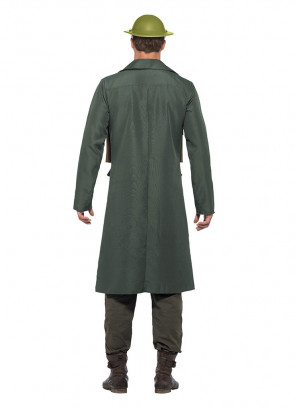 WWII British Officer - Trench Coat