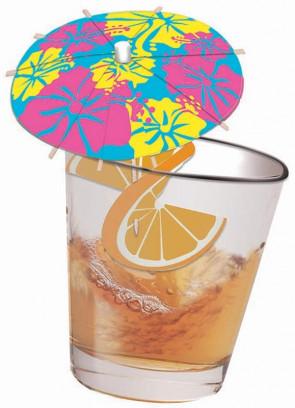 Hawaiian Cocktail Umbrellas - 12pk