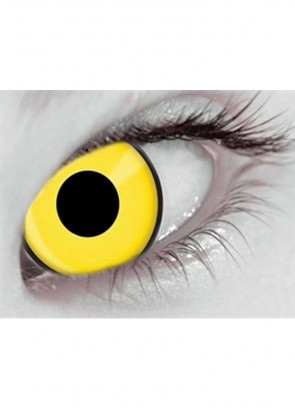 Mai Chick Yellow UV Contact Lenses - 1 Month Wear