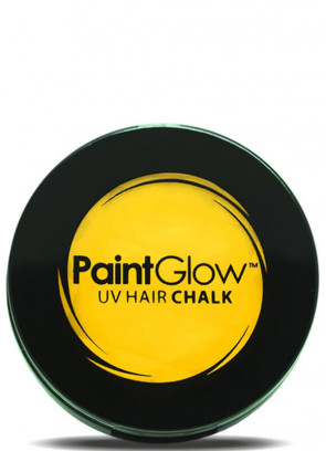 UV Hair Chalk (Yellow)