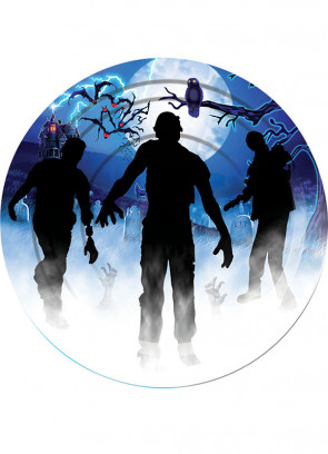 Zombie Large Paper Plate (8pk)
