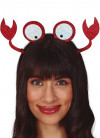 Crab Glitter Headband