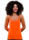 80s Vest Top Neon Orange