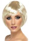 Babe Bob Wig with Side Fringe - Blonde