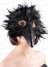 Bird Eye Mask Black