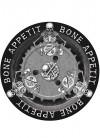 Bone Appetit Large Paper Plate (8pk)