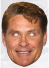David Hasslehoff Card Face Mask