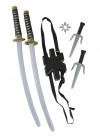 Double Ninja Sword Set 72cm