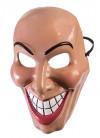 Evil-Grin Mask Red Lips- Female