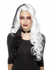 Evil-Madame Wig – White / Black - Styleable