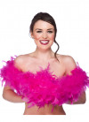 Feather Boa Bright Pink 60g - 170cm