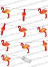 Tropical Flamingo LED String Lights - 10 Led Lights 1.65cm