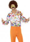 60's Groovy Shirt –Multi Colour