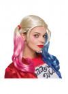 Harley Quinn Suicide Squad Wig - Pink / Blue / Blonde