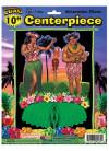"""Hawaiian Luau Honeycomb Centrepiece 10"""""""