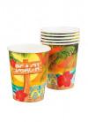 Hawaiian Paper Cups - 6pk 25cl