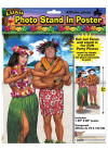 Hawaiian Luau Stand in Photo Poster 5ft