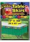 Hawaiian Luau Plastic Table-Skirt 14ft