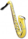 Inflatable Saxophone - Assorted Colours 75cm
