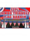 Jumbo USA Triangle Bunting (12ft Long)