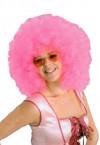 Mega Pink Afro Wig