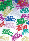 Happy Birthday Foil Party Confetti