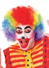 Rainbow Clown Afro Pop Wig