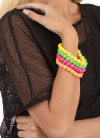Neon Beads Bracelets