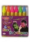 UV Neon Make-up Crayons