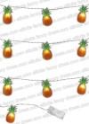 Tropical Pineapple LED String Lights - 10 LED Lights 1.65m