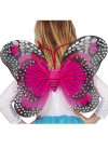Pink and Black Speckled Butterfly Wings 39x48cm