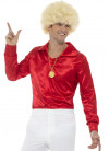 Red 60's Shirt - Mojo Man