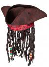 Tricorn Pirate Hat – Headscarf, Braids and Beads