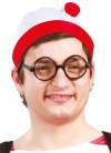 Waldo Red & White Hat