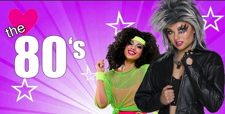 Bring back the best decade with Bold Neon Colours and Wild Abandon plus Big Hair! - It's Hammertime! 1980s Disco Fashion... Ohhhh Yeeahhhh!