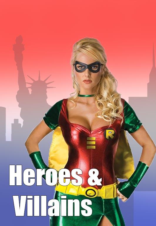 Superheroes & Villains