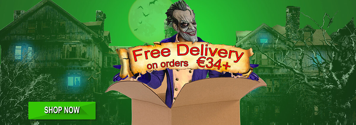 Free delivery with orders over €34!