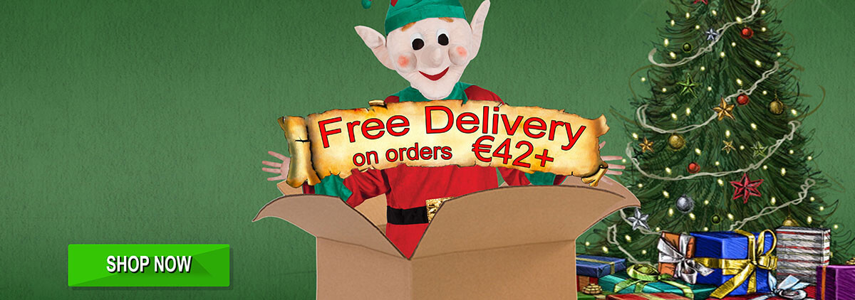 Free delivery with orders over €35!